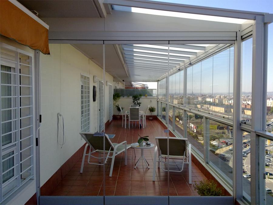 Cristales para terrazas sevillaglass - Cristaleras para terrazas ...