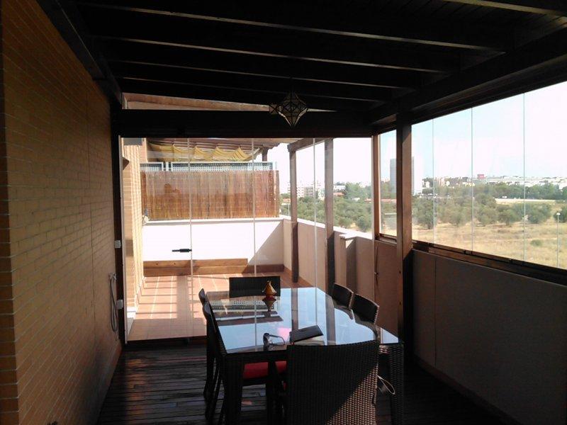 Sevillaglass cristales para terrazas - Cristaleras para terrazas ...